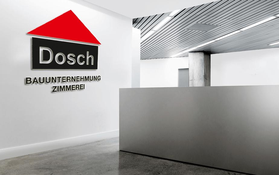 Bauunternehmung Dosch Marken Design Althammer Studios