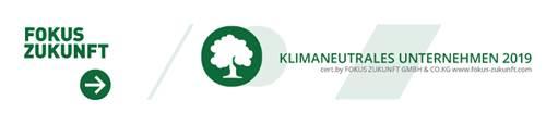 """Für die Kompensation unserer Treibhausgase haben wir die Auszeichnung """"klimaneutrales Unternehmen"""" erhalten. Zudem sind wir Mitglied in der Klimainitiative StarnbergAmmersee"""