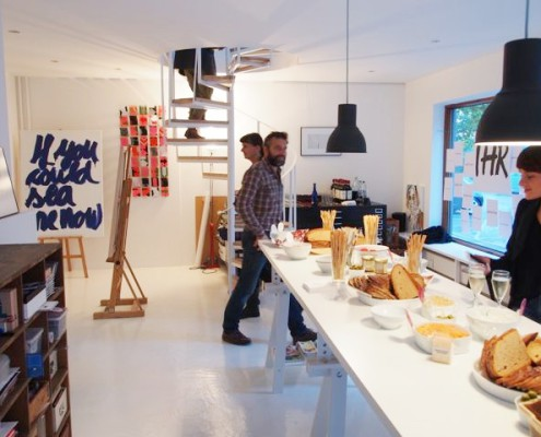 Coworking Althammer Studios im Institut für Form und Farbe iffuf