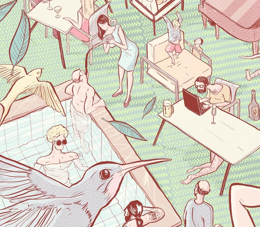 Illustration solpuri von Althammer sudios Designkonzept