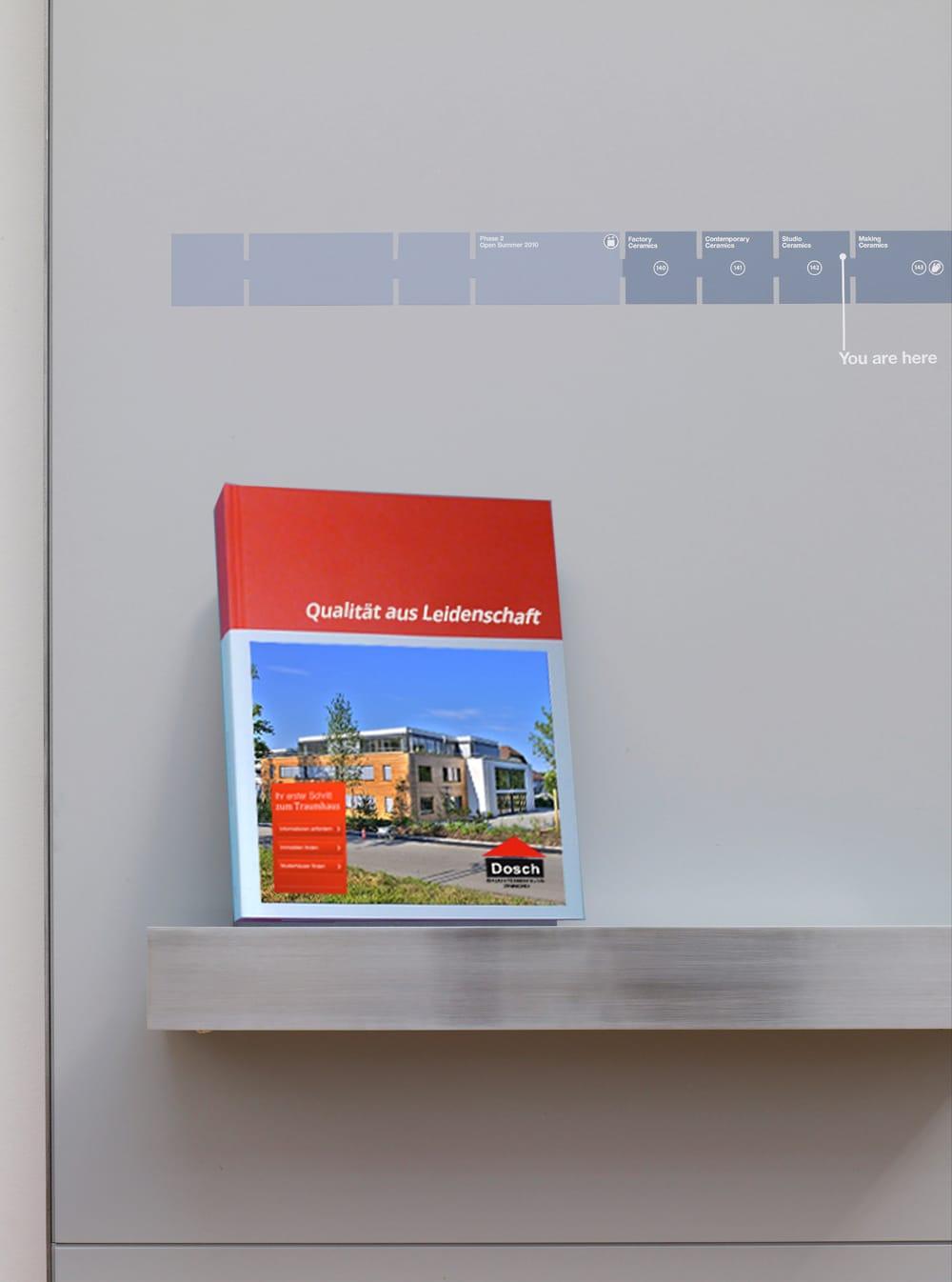 Katalog Design Althammer Studios für Dosch Bau